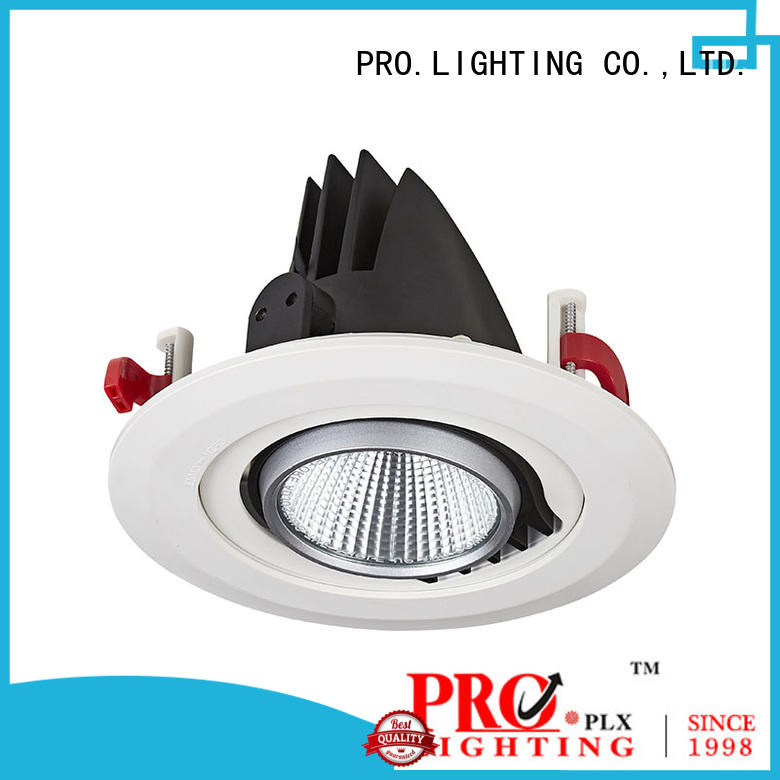 PRO.Lighting 10w gimbal trim recessed lighting directly sale for dance hall