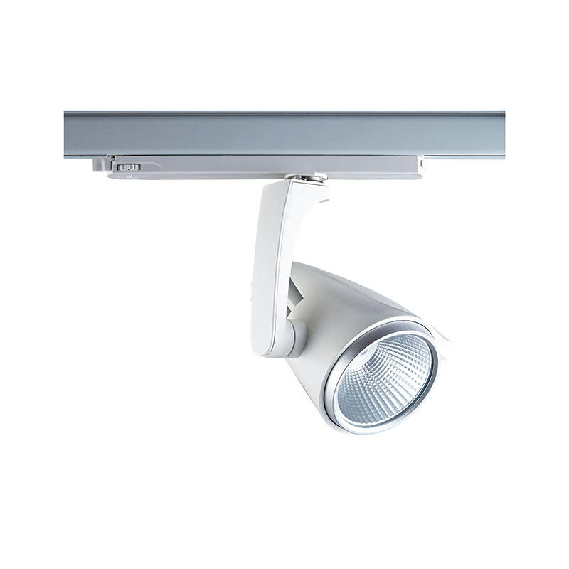 Pro.Lighting Cob Led Track Light Black White with Built-in Driver Adaptor 30W SP4030