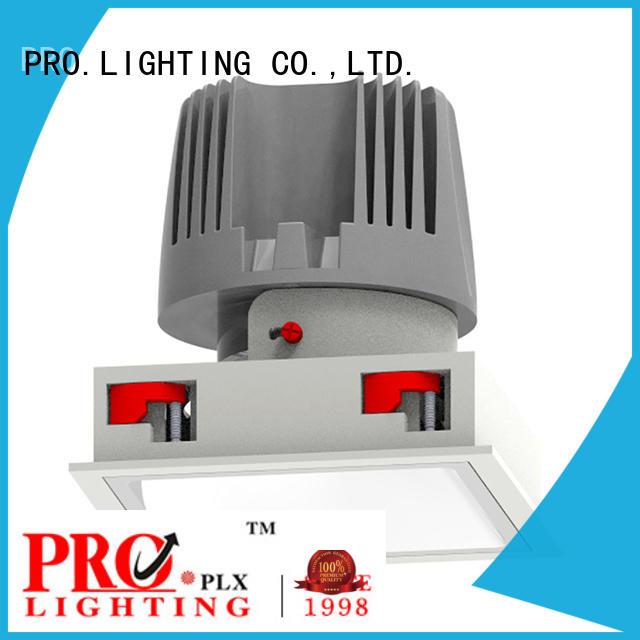 certificated microwave sensor light prolighting factory price for dance hall