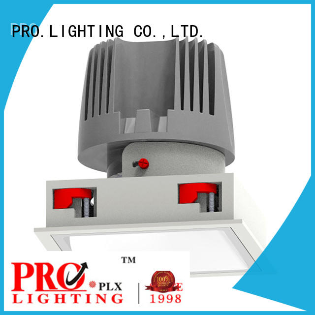certificated microwave sensor light prolighting factory price for dance hall