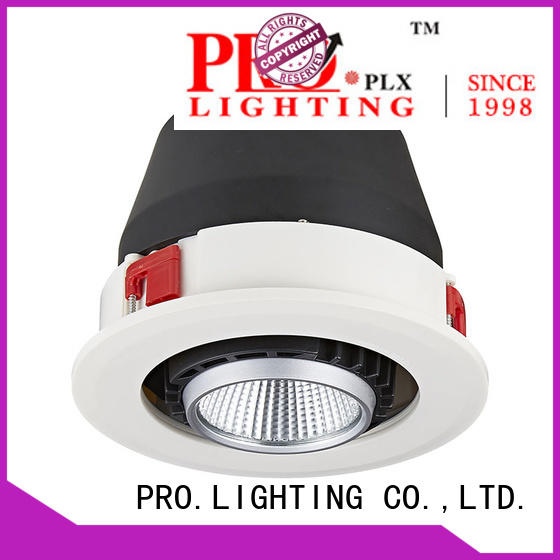 durable led recessed gimbal lights 10w series for stage