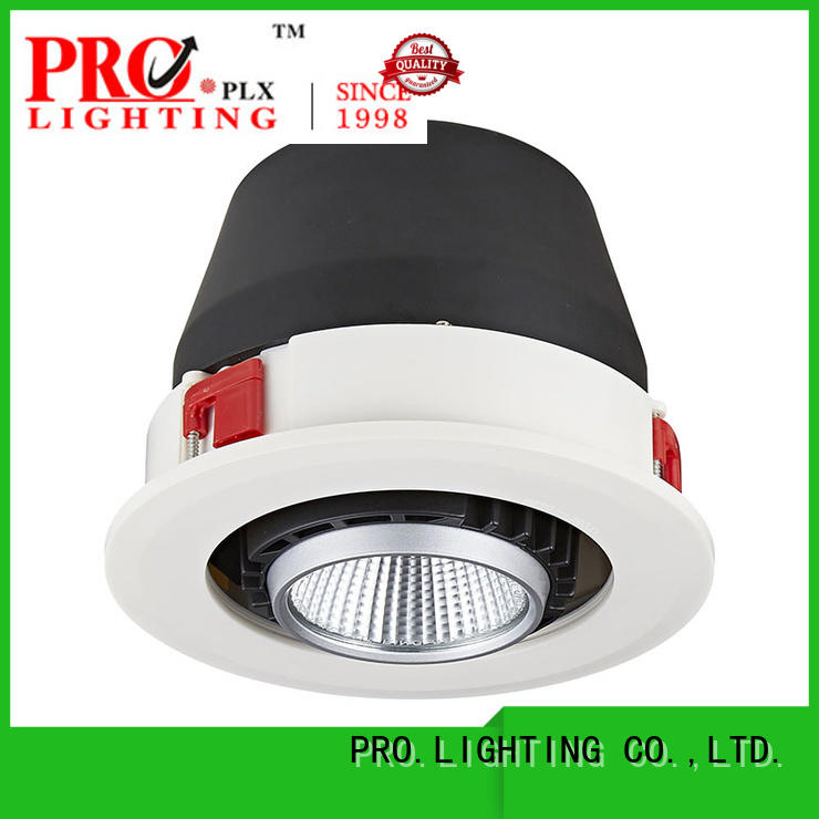 PRO.Lighting quality led recessed gimbal lights customized for ballroom