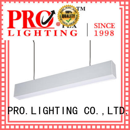 PRO.Lighting light suspended linear light fixtures personalized for museum