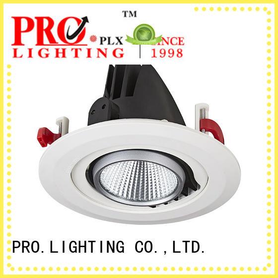 PRO.Lighting 2x10w gimbal trim recessed lighting series for ballroom