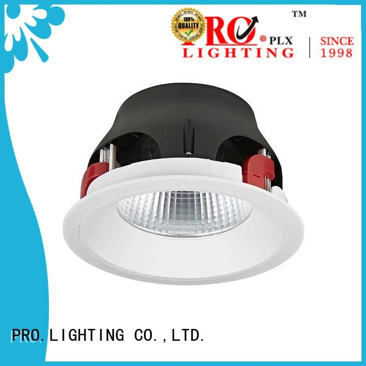 PRO.Lighting rating low profile downlights personalized for ballroom