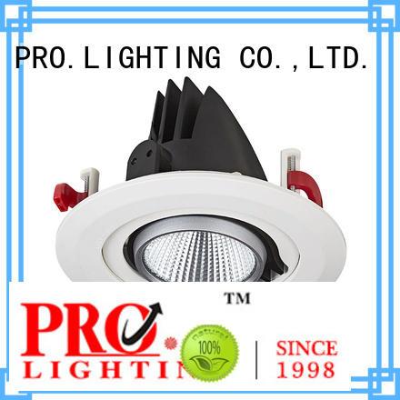 Pro.Lighting Round Recessed Led Gimbal spotlight 30W SPD4030