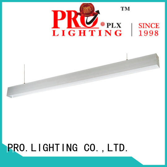 PRO.Lighting sturdy suspended linear light fixtures 12m for hospital