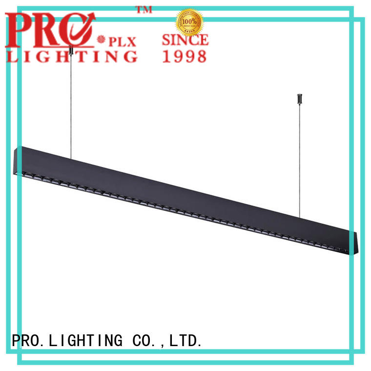 PRO.Lighting stable suspended linear light fixtures supplier for boutique