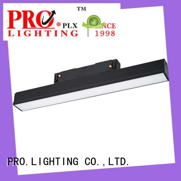 efficient track spotlight design for shop