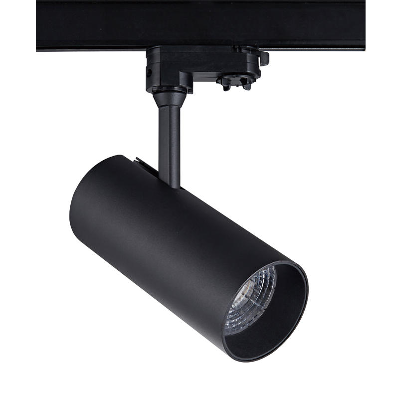 Pro.Lighting Led Cob Track Light 4 Wire Driver in the lamp 30W SP8040