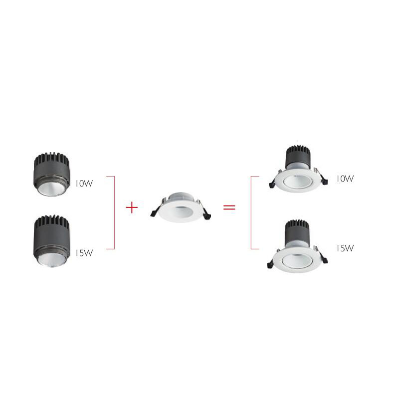 stable downlight osram led factory price for shop-2