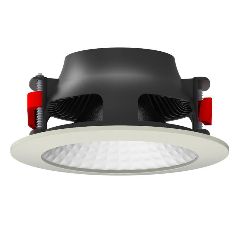 Pro.Lighting Led Down Light Wide Beam Angle Recessed Cob Downlight Aluminum 30W 10073N