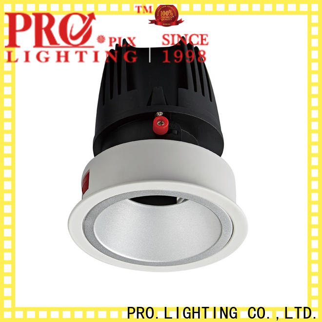 certificated recessed led downlight down personalized for stage