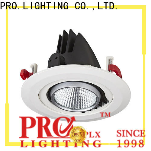 practical gimbal recessed light round customized for dance hall