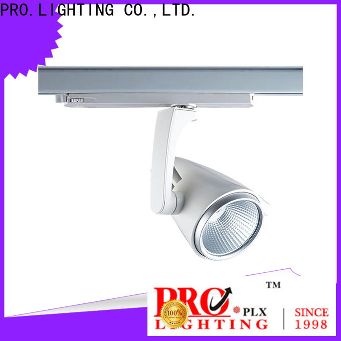 PRO.Lighting efficient black track lighting design for stage