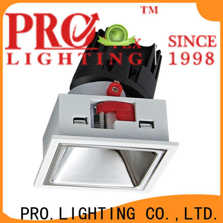 PRO.Lighting certificated recessed wall washer supplier for business center