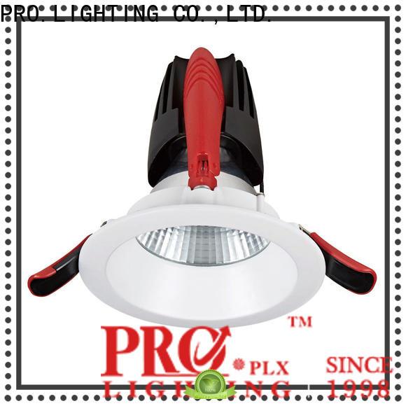 PRO.Lighting item adjustable downlights factory price for shop