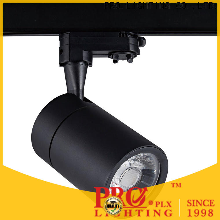 efficient commercial track light black factory for stage