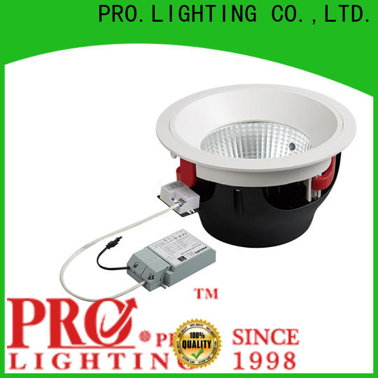 PRO.Lighting emergency industrial downlights personalized for ballroom