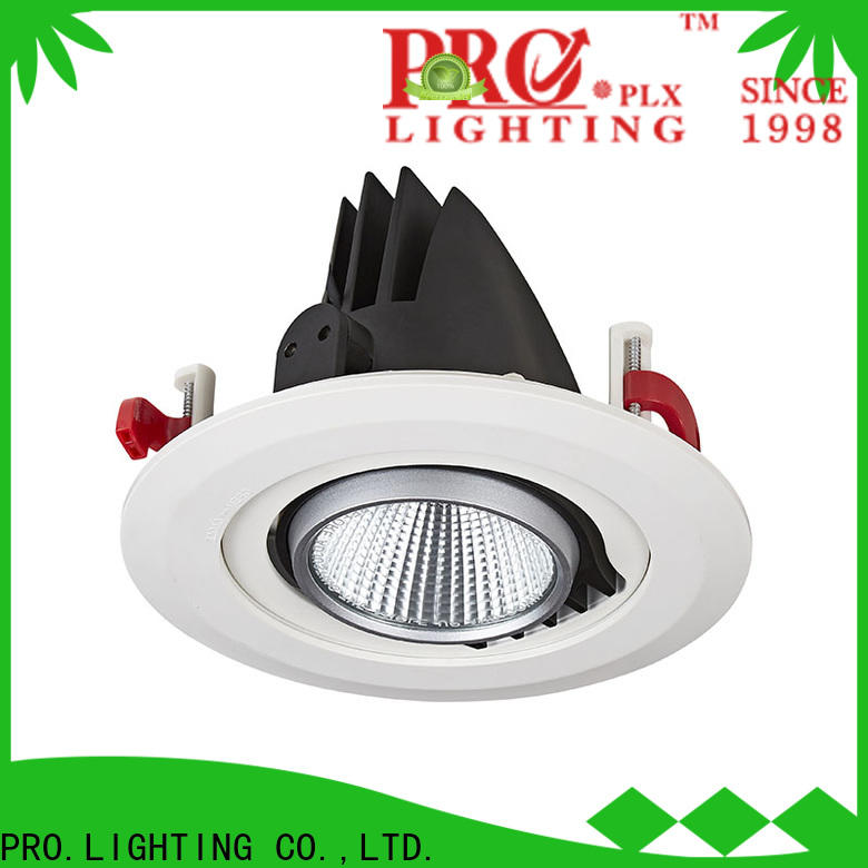 PRO.Lighting practical gimble led downlight series for home