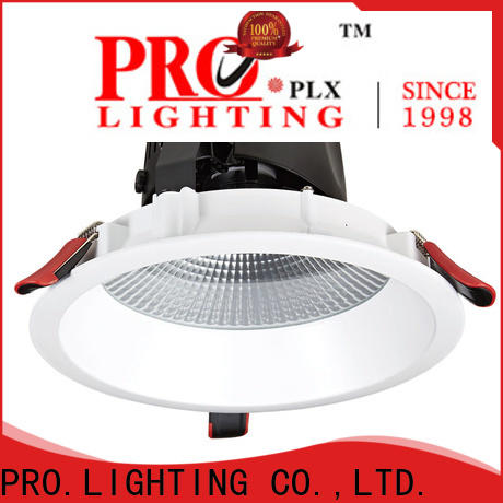 certificated ceiling downlight fittings aluminum personalized for dance hall