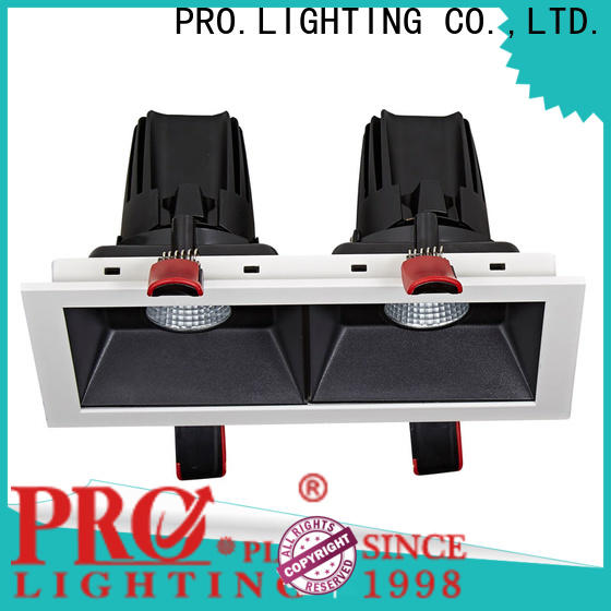 PRO.Lighting durable 3 gimbal recessed light from China for stage
