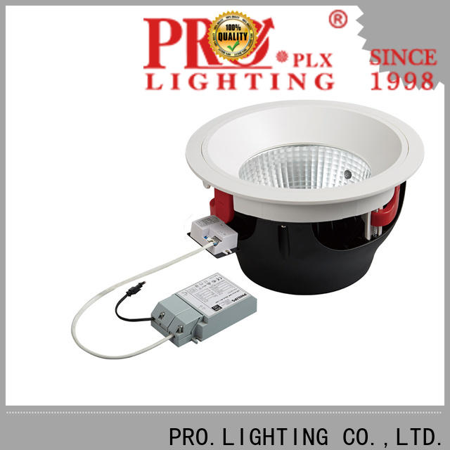 PRO.Lighting microwave square recessed led downlight factory price for shop