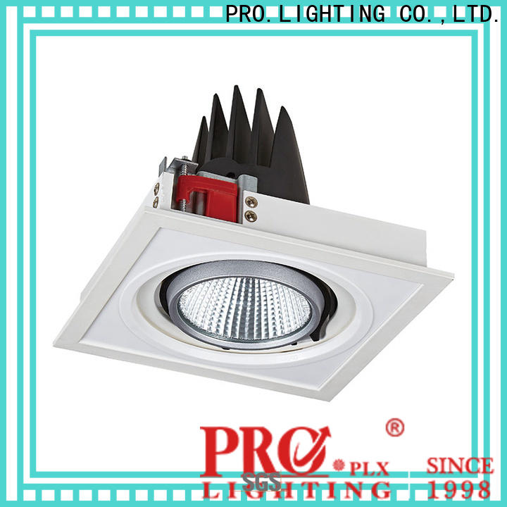 PRO.Lighting square showroom spot light with good price for ballroom