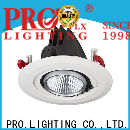 PRO.Lighting single 6 inch gimbal trim manufacturer for stage