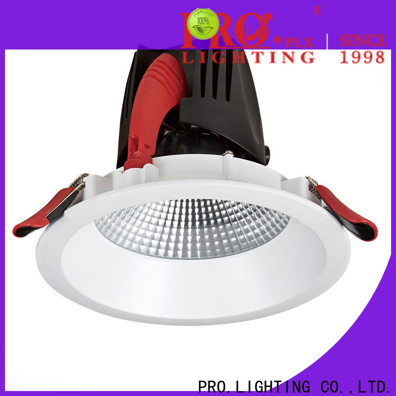 PRO.Lighting stable kitchen downlights personalized for stage
