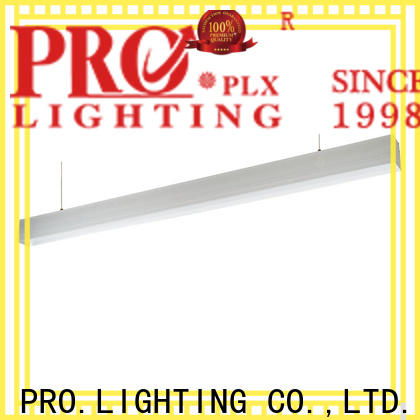 professional led linear light fittings 12m factory price for hospital