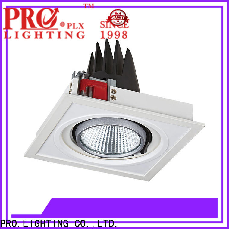 custom ceiling lights spotlights square with good price for restaurant