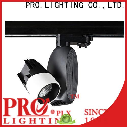 PRO.Lighting phase black led track lighting factory for home