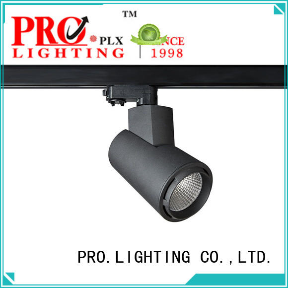 PRO.Lighting blackwhite plug in track lighting inquire now for dance hall