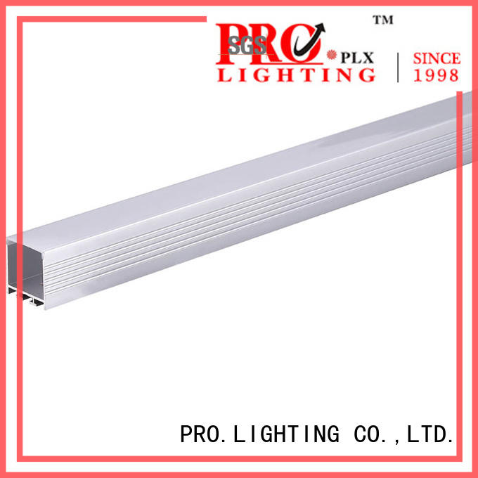 certificated led linear pendant light 18w personalized for hotel
