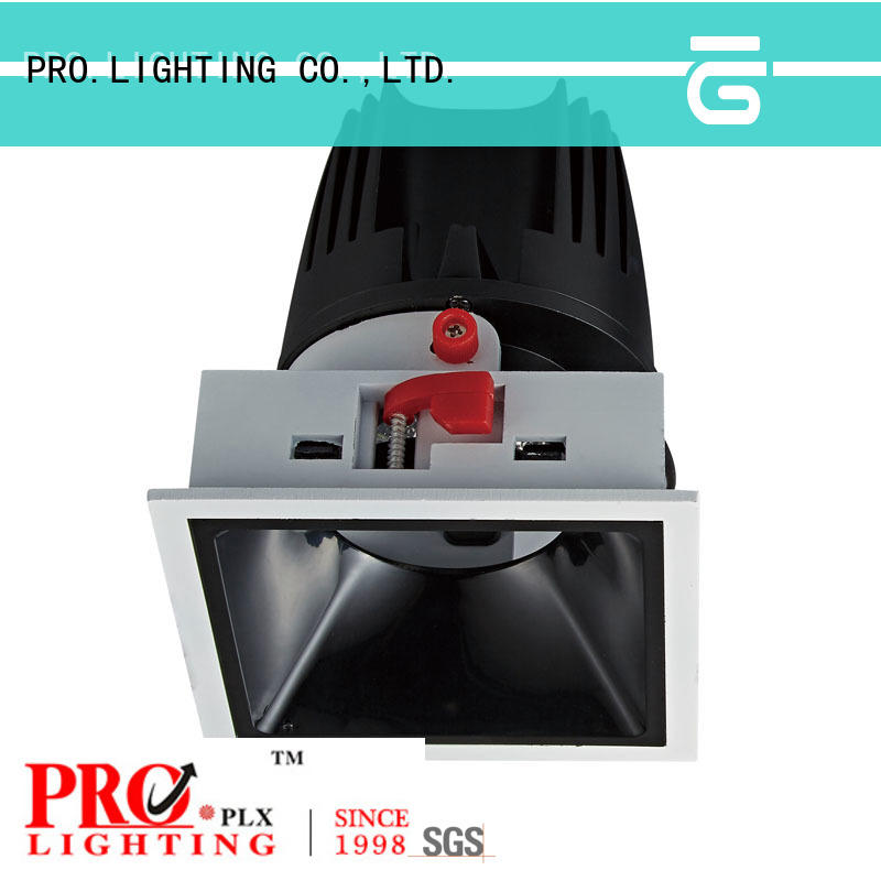 certificated downlight led 20w 15w personalized for dance hall
