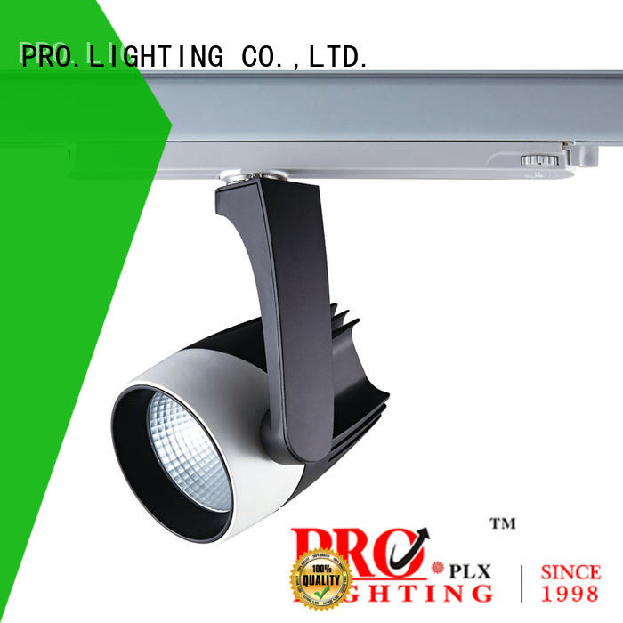 PRO.Lighting black commercial track light factory for stage