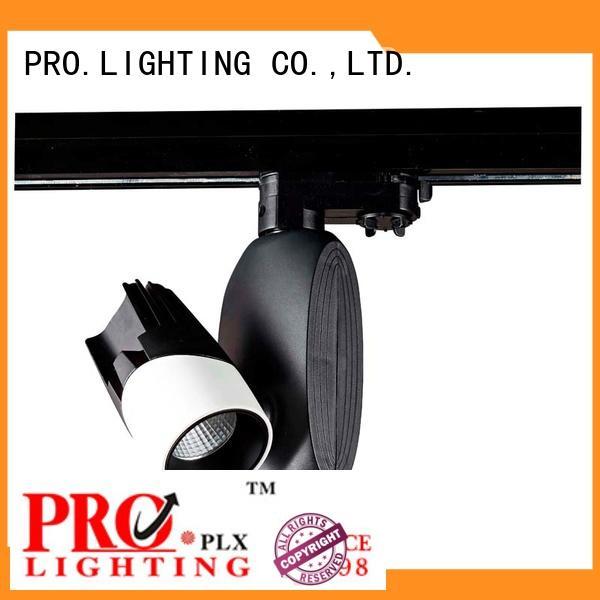 PRO.Lighting designed bronze track lighting with good price for dance hall