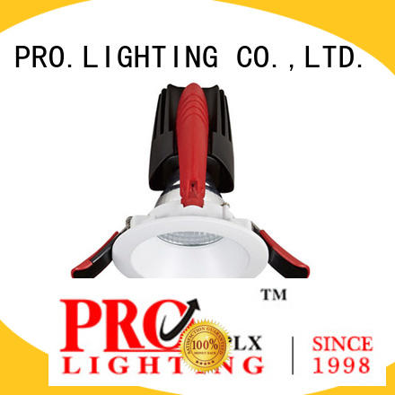 PRO.Lighting sturdy recessed cob downlight personalized for dance hall