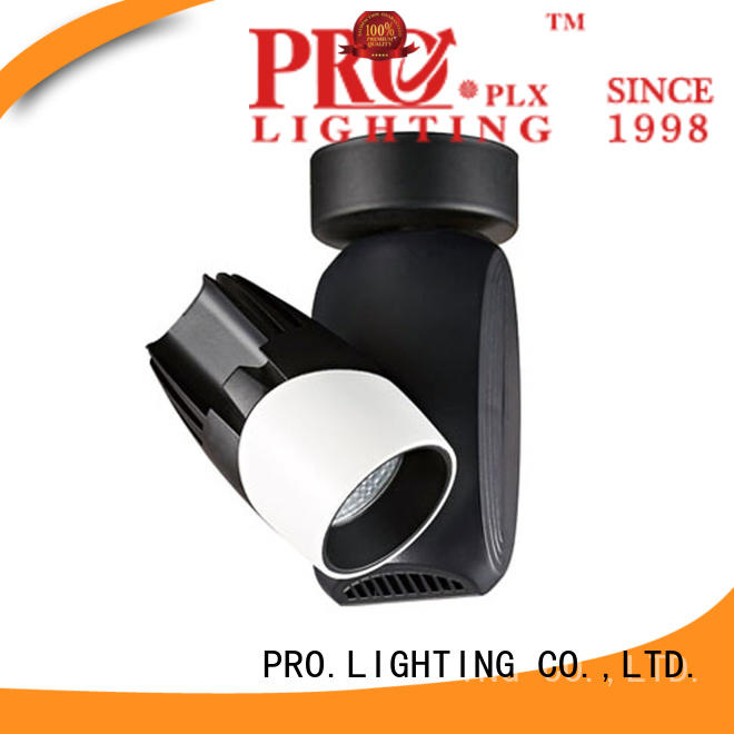 PRO.Lighting blackwhite recessed track lighting with good price for dance hall