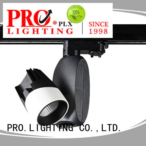 PRO.Lighting excellent 2 wire track light factory for dance hall