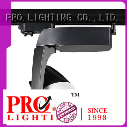 elegant black track lighting 40w with good price for home