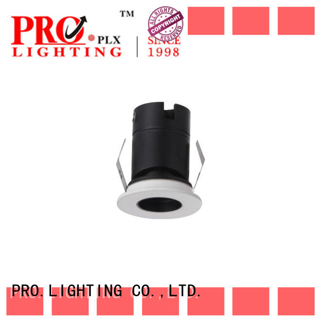 excellent led spotlight fittings prolighting with good price for restaurant