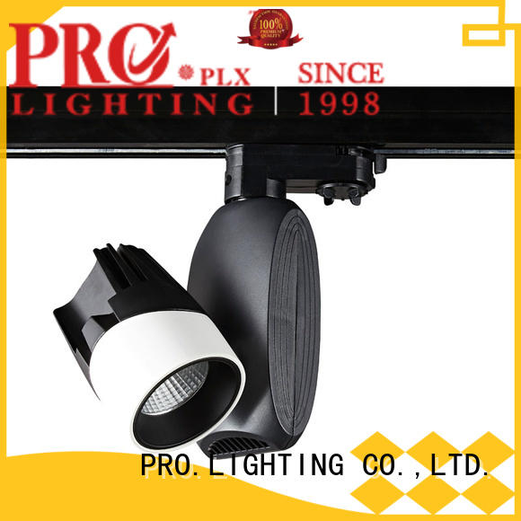 PRO.Lighting efficient 3 wire track light factory for stage