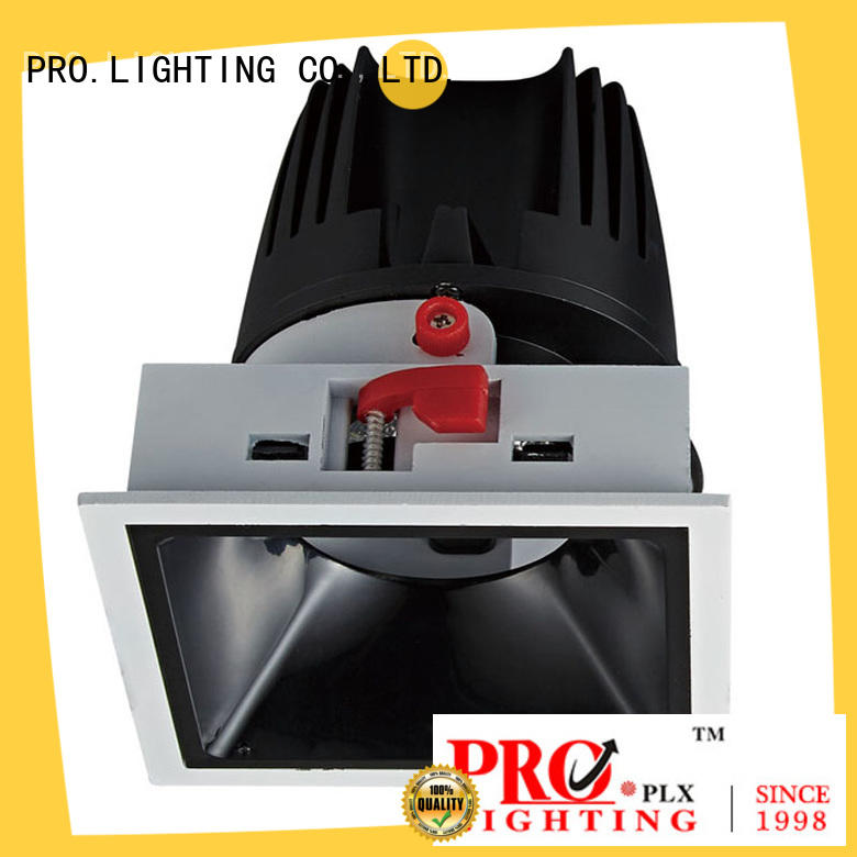 sturdy square led downlights light factory price for ballroom