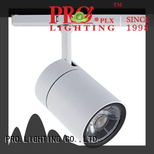 PRO.Lighting elegant brass track lighting design for stage