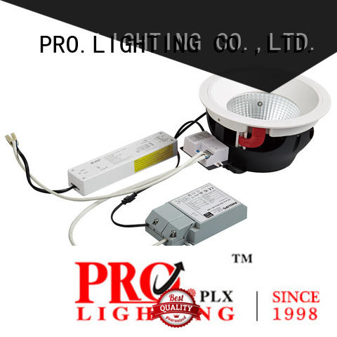 PRO.Lighting stable low profile downlights personalized for ballroom
