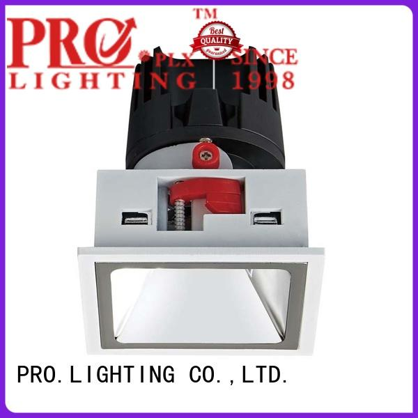 stable recessed downlight square wholesale for dance hall