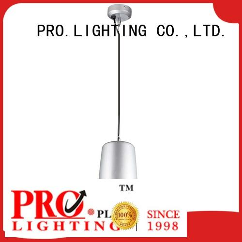 PRO.Lighting hot selling stainless steel pendant light manufacturer for hotel