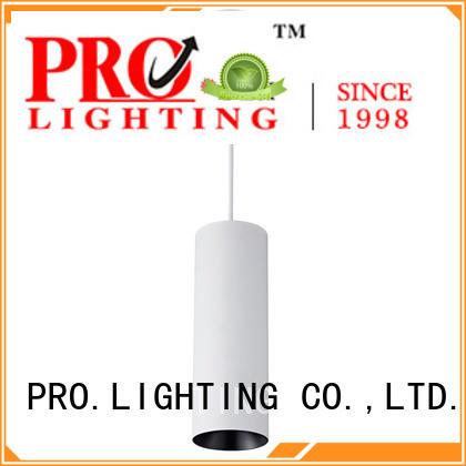 PRO.Lighting 150mm black pendant light customized for office